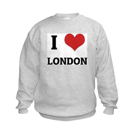 I Love London Kids Sweatshirt