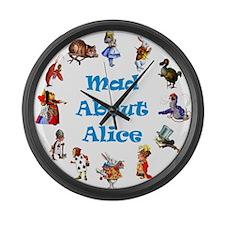 WONDERLAND CIRCLE Large Wall Clock