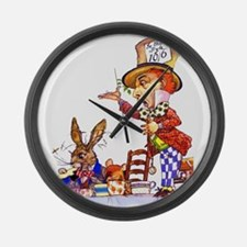 MAD HATTER Large Wall Clock