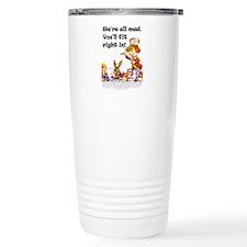 WE'RE ALL MAD Thermos Mug