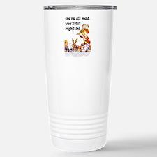 WE'RE ALL MAD Travel Mug