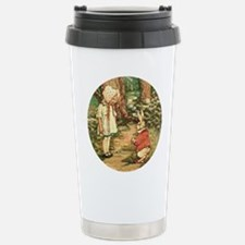 FOLOW ME TO WONDERLAND Stainless Steel Travel Mug