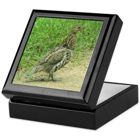 Ruffed Grouse Keepsake Box