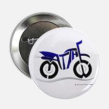 "Matthew Blue and Black Bike 2.25"" Button"