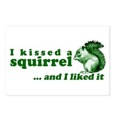 I Kissed A Squirrel Postcards (Package of 8)