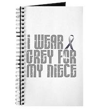 I Wear Grey For My Niece 16 Journal