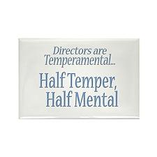 Temperamental Director Rectangle Magnet
