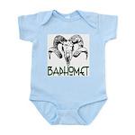 BAPHOMET SKULL Infant Bodysuit