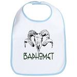 BAPHOMET SKULL Bib