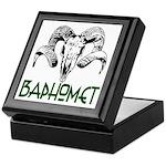 BAPHOMET SKULL Keepsake Box