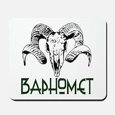 BAPHOMET SKULL Mousepad