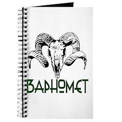BAPHOMET SKULL Journal