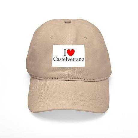"""""""I Love (Heart) Castelvetrano"""" Cap"""