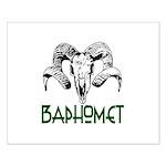 BAPHOMET SKULL Small Poster