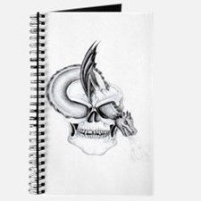 gothic Skull and dragon Journal