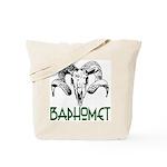 BAPHOMET SKULL Tote Bag