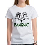BAPHOMET SKULL Women's T-Shirt