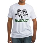 BAPHOMET SKULL Fitted T-Shirt