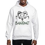 BAPHOMET SKULL Hooded Sweatshirt