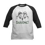 BAPHOMET SKULL Kids Baseball Jersey