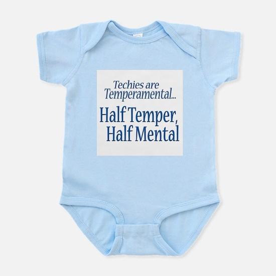 Temperamental Techie Infant Bodysuit