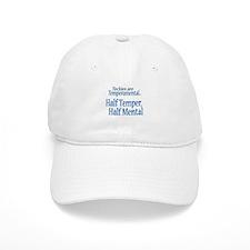 Temperamental Techie Baseball Cap