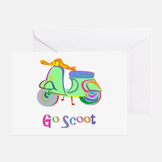 Go Scoot! Greeting Card