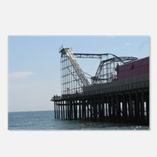 Roller Coaster Pier Postcards (Package of 8)