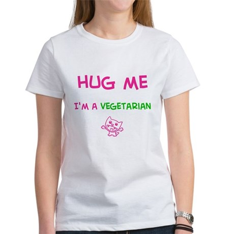 Hug Me-Vegetarian (Women's T-Shirt)