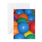 Balls of Every Color Greeting Cards (Pk of 20)