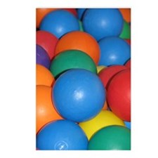 Balls of Every Color Postcards (Package of 8)