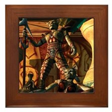 Saris Framed Tile