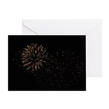 Bursts in the Night Greeting Card