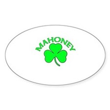Mahoney Oval Decal