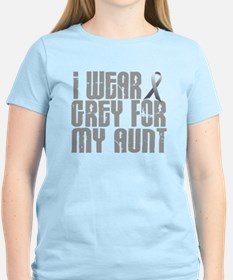 I Wear Grey For My Aunt 16 T-Shirt