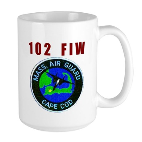 102 FIW MASS. AIR GUARD Large Mug
