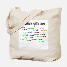 a women's right to choose<br>Tote Bag