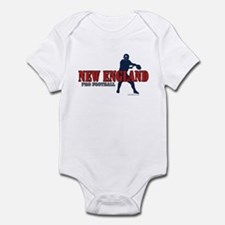 New England Football Infant Bodysuit