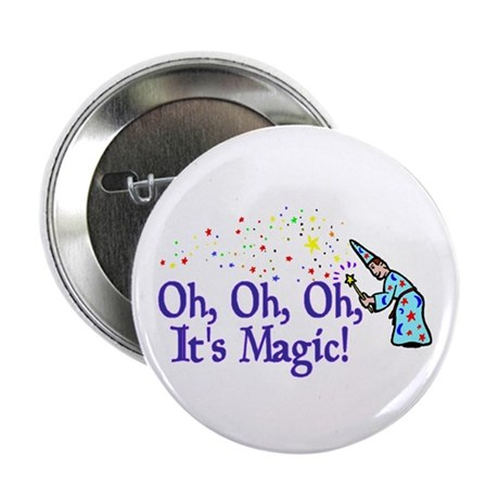 "It's Magic 2.25"" Button (10 pack)"
