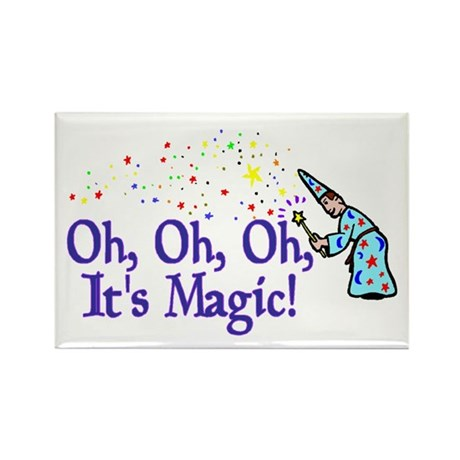 It's Magic Rectangle Magnet (10 pack)