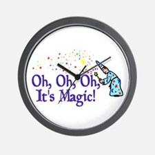 It's Magic Wall Clock