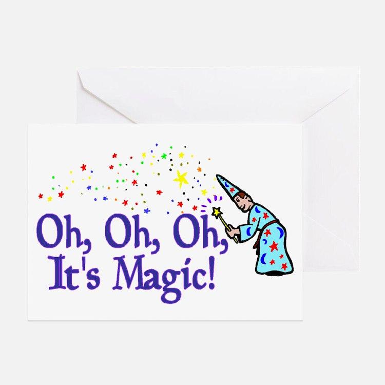 It's Magic Greeting Card