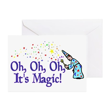 It's Magic Greeting Cards (Pk of 10)