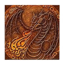 Lunus Mural Tile Coaster