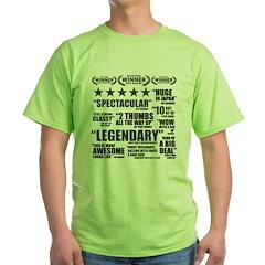Critics Green T-Shirt