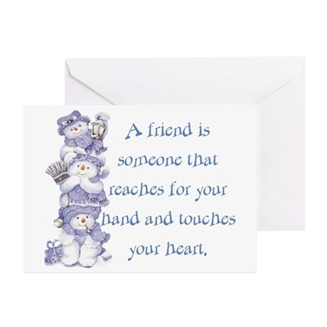 Snowman Friends Greeting Cards (Pk of 20)