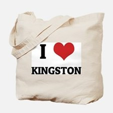 I Love Kingston Tote Bag