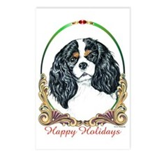 Cavalier King Charles Spaniel Holiday Postcards (P