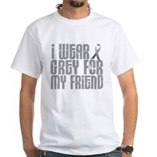 I Wear Grey For My Friend 16 Shirt
