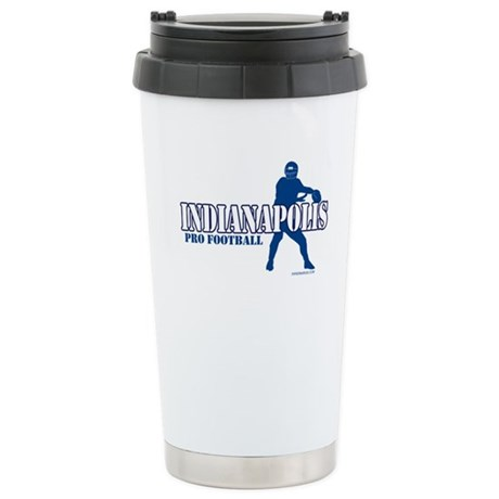 Indianapolis Football Stainless Steel Travel Mug